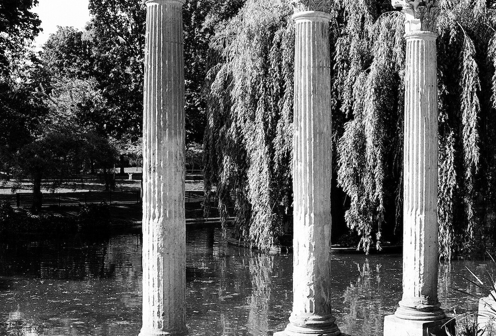 Parc Monceau | Paris in Black and White | Bill McClave