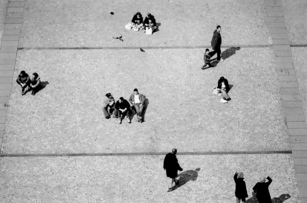 Place Georges Pompidou | Paris in Black and White | Bill McClave