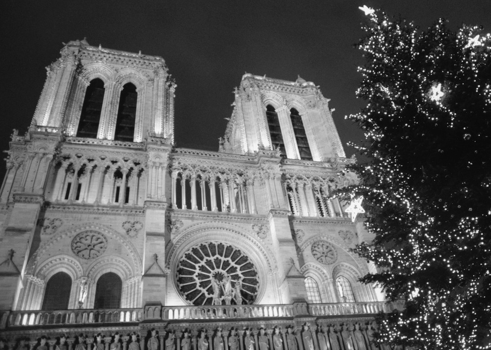 Notre Dame de Paris | Paris in Black and White | Bill McClave