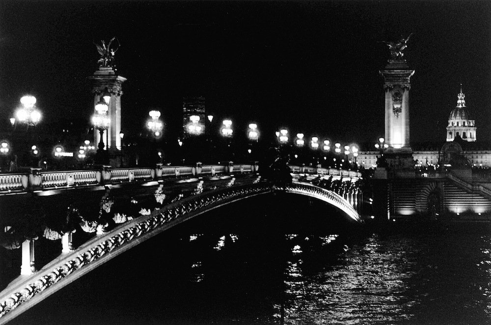 Pont Alexandre III | Paris in Black and White | Bill McClave
