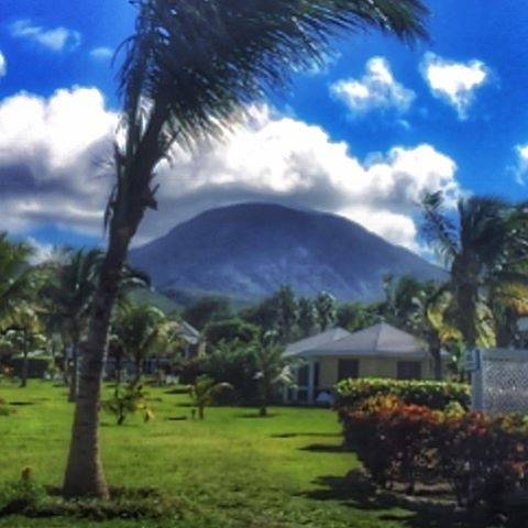 #Sunday #goals. I see you #MountNevis. #naperfectworld #travels #Nevis. #hbfit