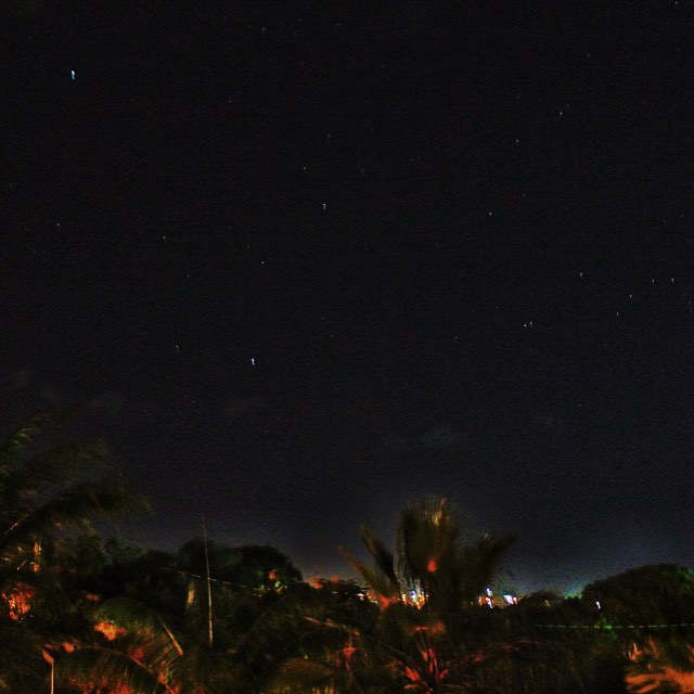 🎶Look at the stars...🎶 #Nevis #night #sky from #Bananas on the Alexander Hamilton estate. #NAperfectworld #travels #caribbean