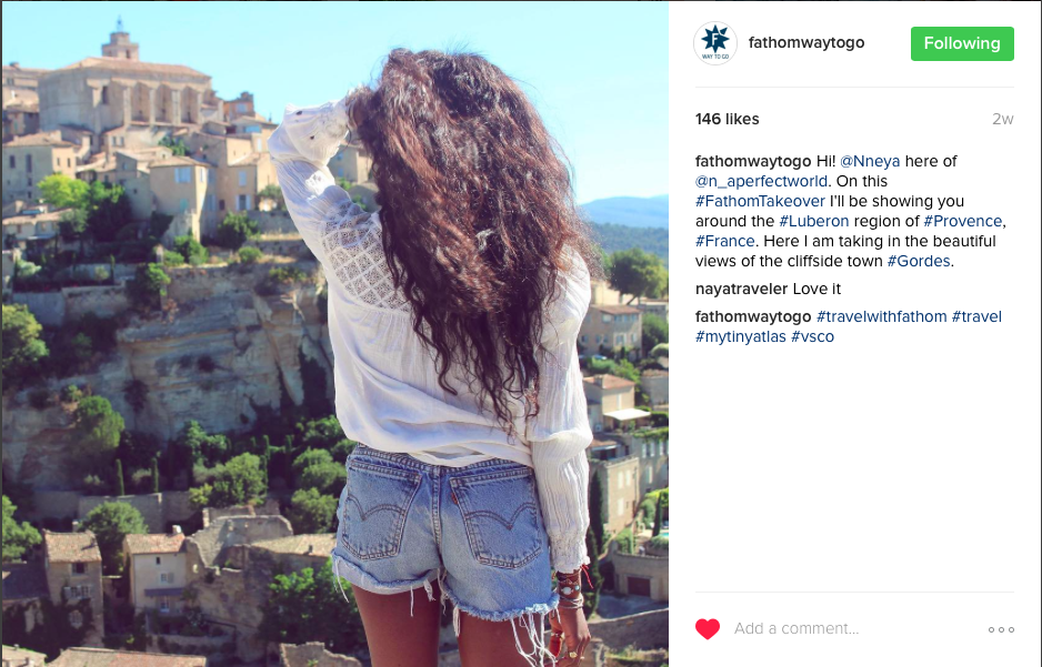 Nneya for Fathom Insta 1 Gordes