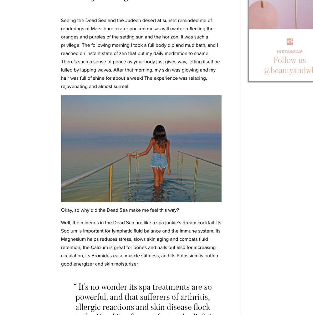 BeautyandWellbeing.com Nov 2015