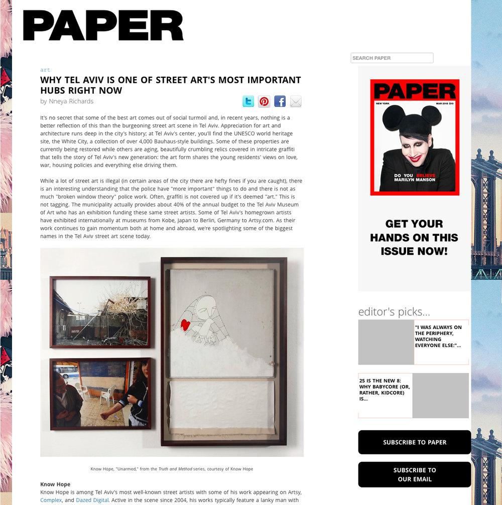 Paper Magazine May 2015