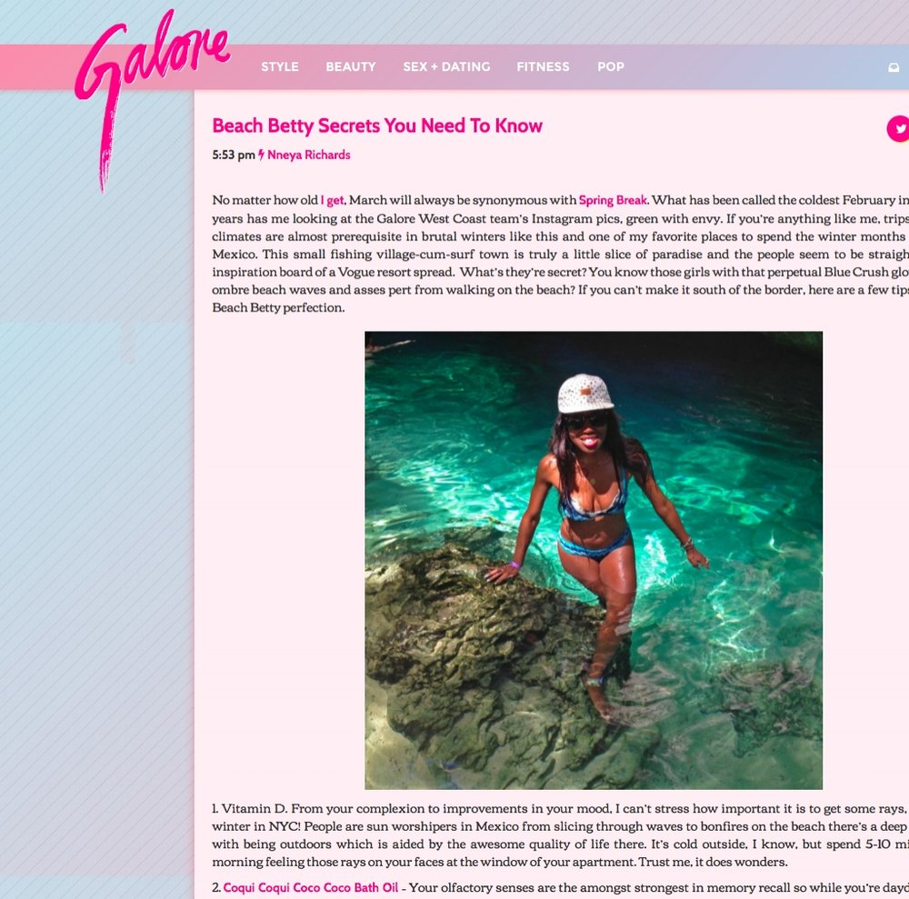Galore March 2015