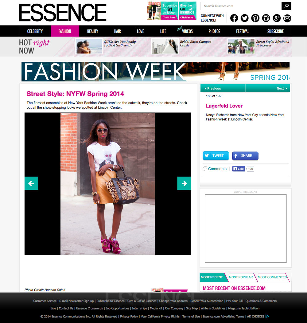 Essence online September 2013