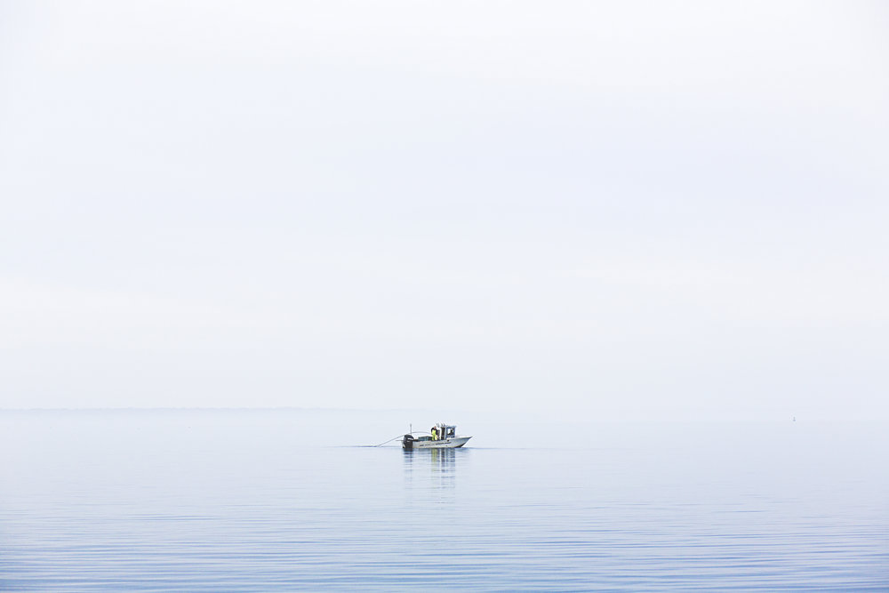 Quahog fisherman.