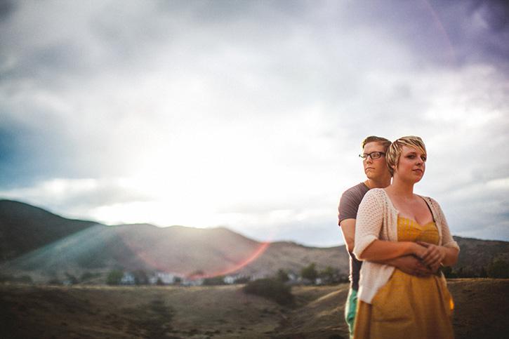 Boulder Wedding Photographer Lens Flare