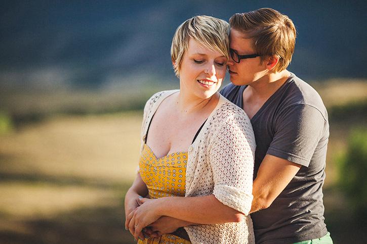 Boulder Wedding Photographer cuddling