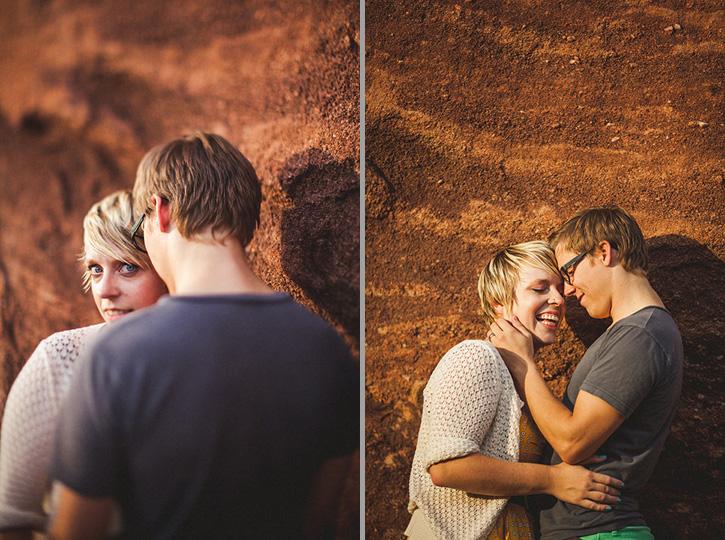 Colorado Red Rocks Love