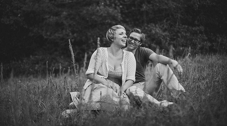 Colorado Mountains Wedding Photographer Black and White