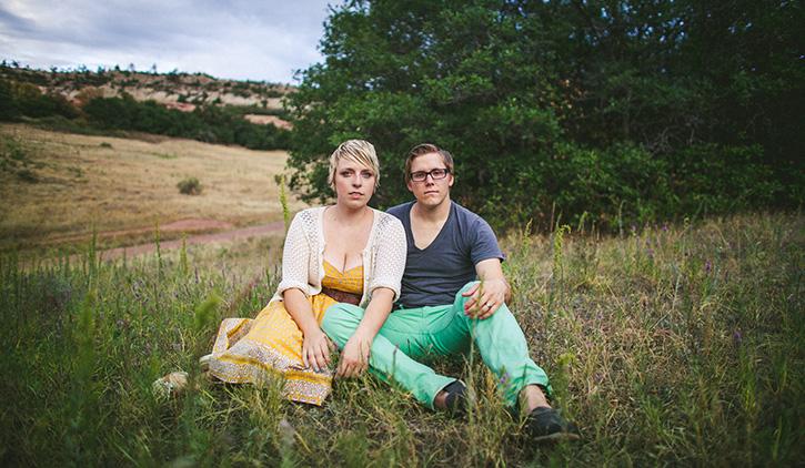 Colorado Mountains Wedding Photographer Cloudy