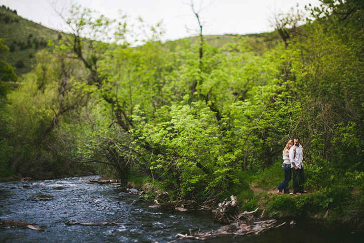 Rocky Mountain Engagement River