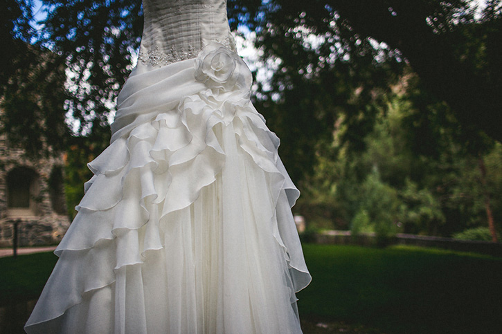 Dunafon Castle Wedding Dress