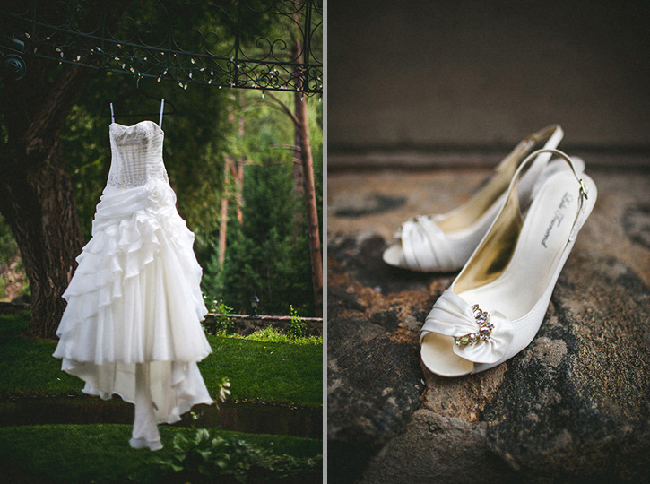 Dunafon Castle Wedding shoes