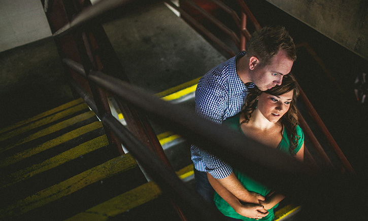 Lexington Wedding Photographer stairs
