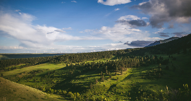 Boulder Wedding Photography Overlooking the Valley