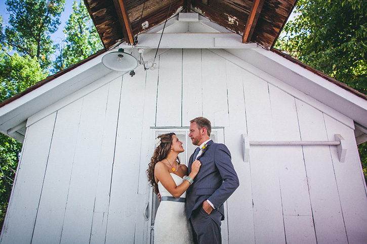 Denver Botanic Gardens Wedding Shed