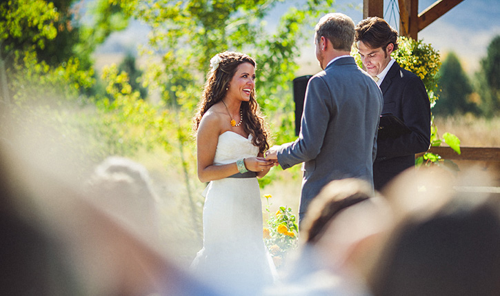 Denver Botanic Gardens Wedding