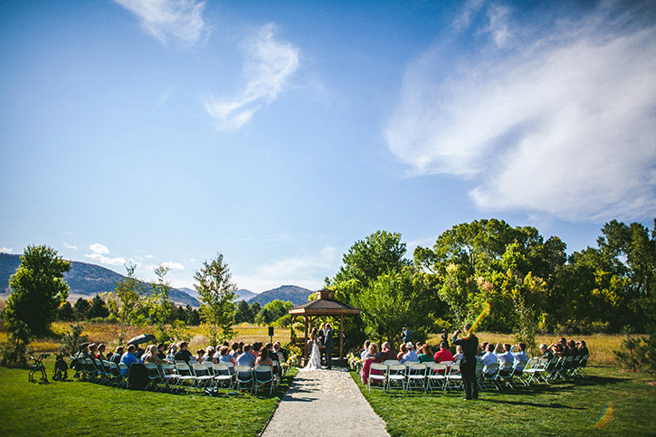 Denver Botanic Gardens Wedding Chatfield
