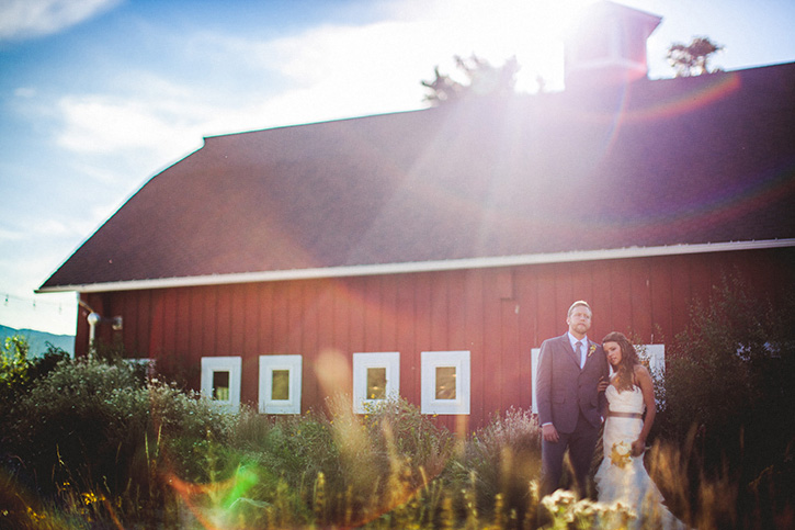 Denver Botanic Gardens Wedding Barn
