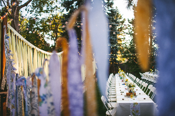 Colorado Wedding Photographers Back Yard Wedding