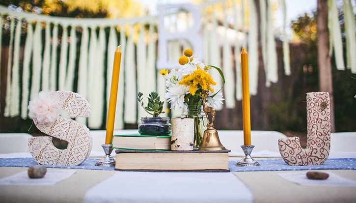 Colorado Wedding Photographers Head table