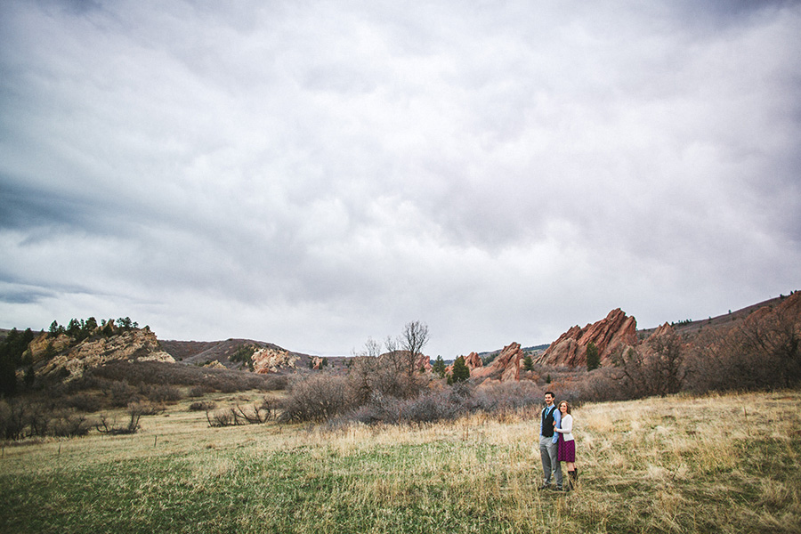 Roxborough Engagement Session Couple