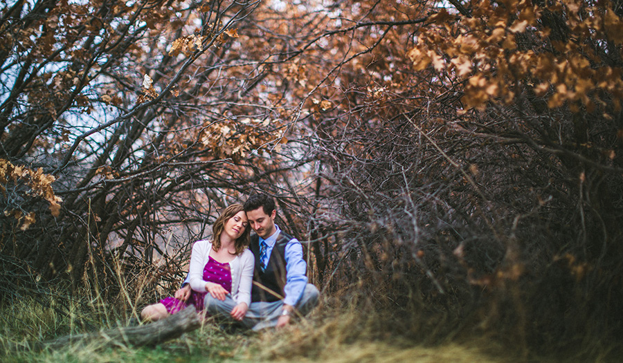 Denver Wedding Photographer Dan and Kayla trees