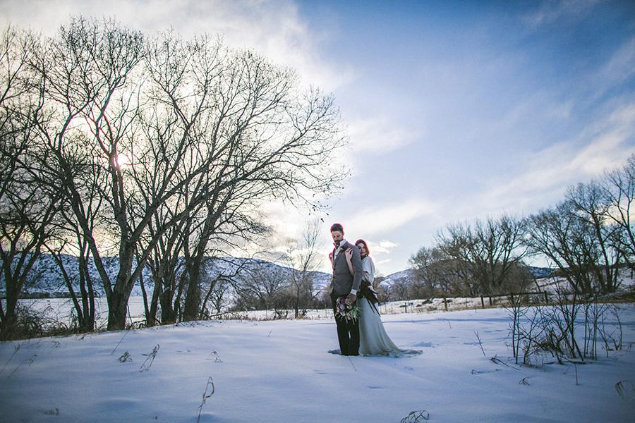 Denver Botanic Gardens Chatfield Winter Wedding-0006