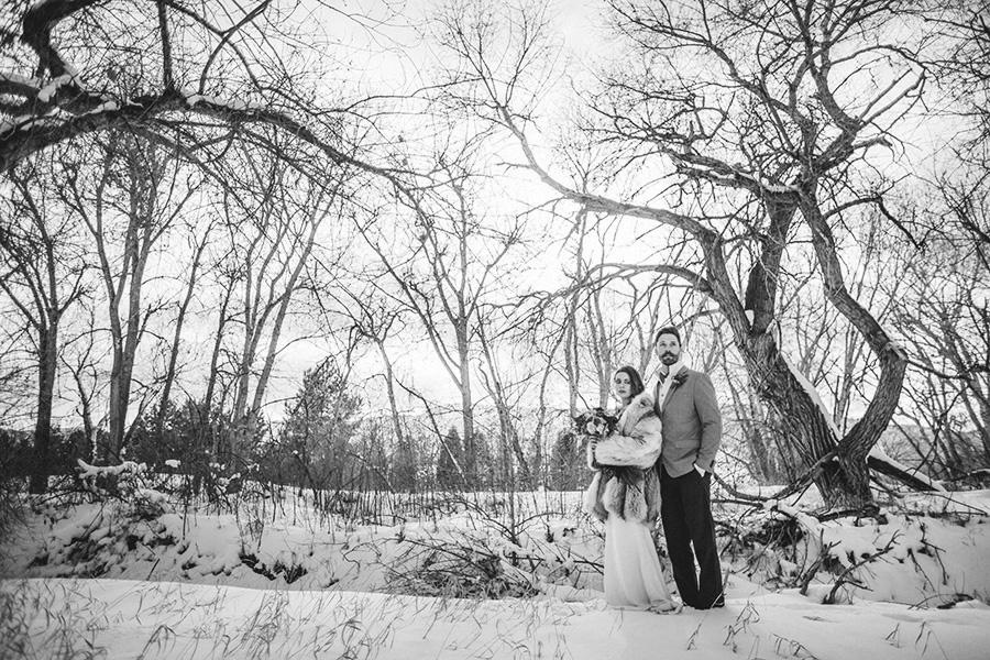 Denver Botanic Gardens Chatfield Winter Wedding-0005