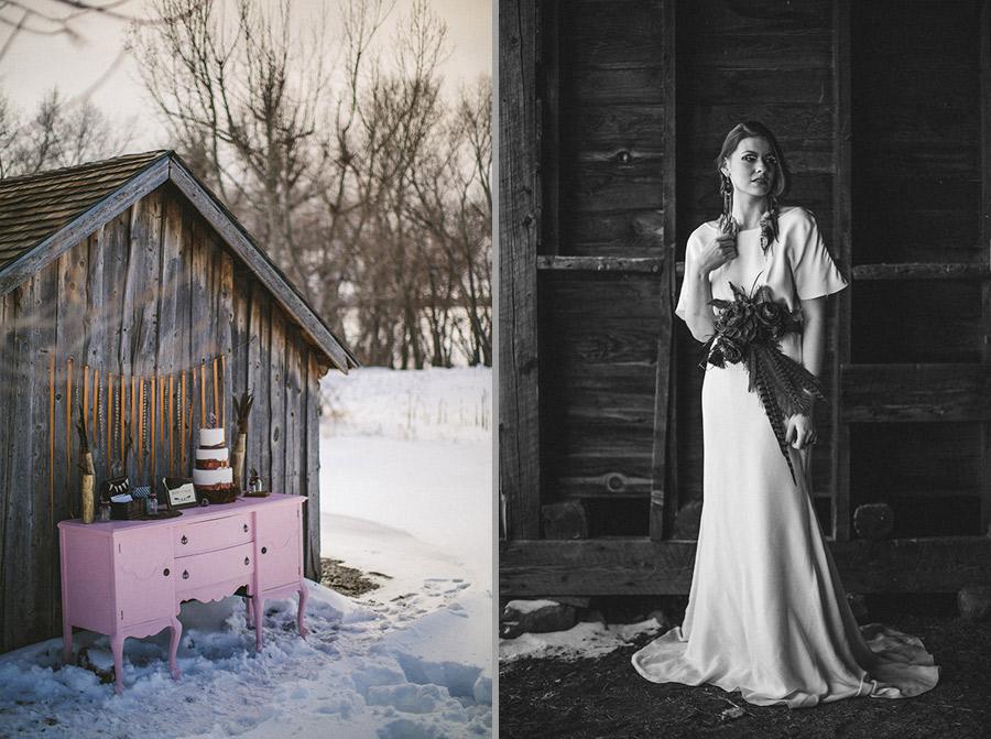 Denver Botanic Gardens Chatfield Winter Wedding-0009