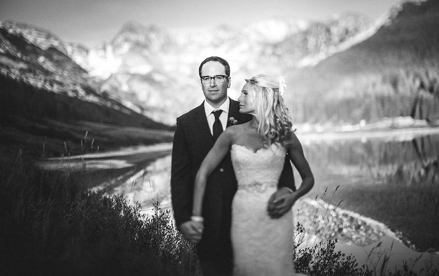 Freelensed Wedding Portrait Brad Erin