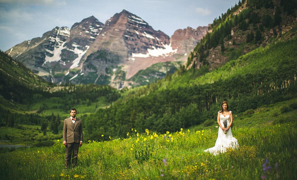 Maroon Bells Wedding Tad And Sarah Aspen