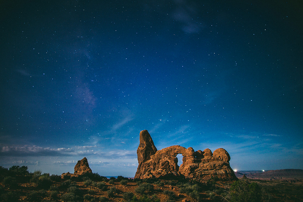 Arches National Park Night