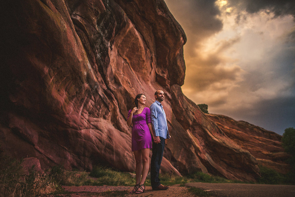 Red Rocks Engagement Storm