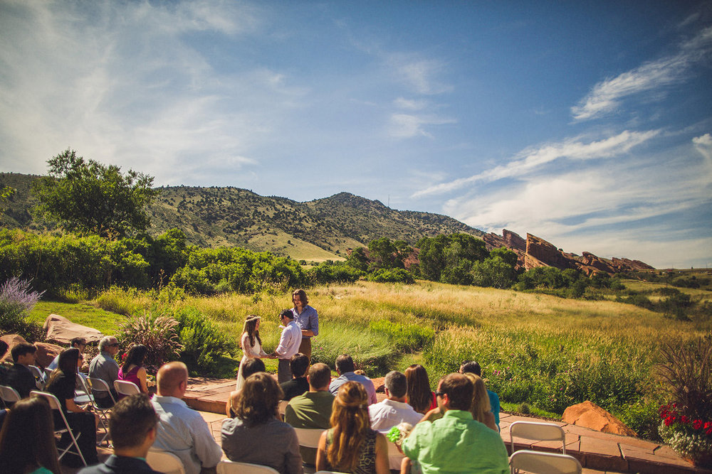 Red Rocks Chapel Wedding