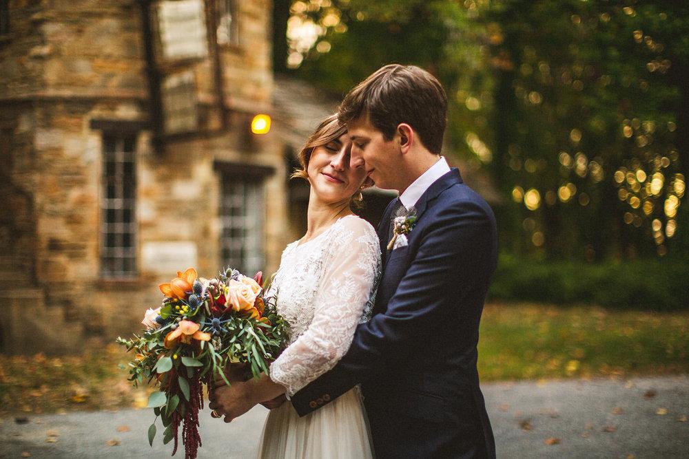 Liz & Matt - Cloisters Castle WeddingMaryland