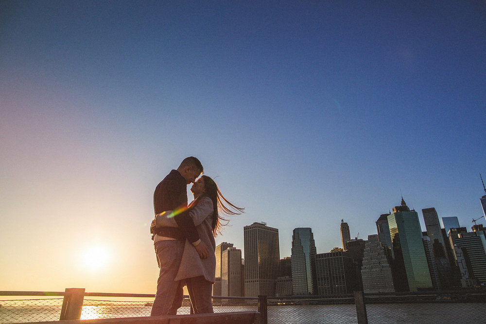 creative brooklyn wedding photography