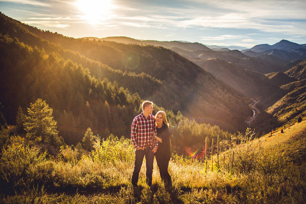 Golden Colorado Engagement Session Dani Ross