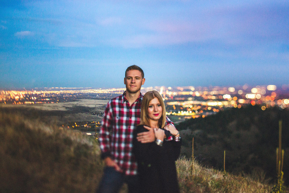 Denver Skyline Engagement Session