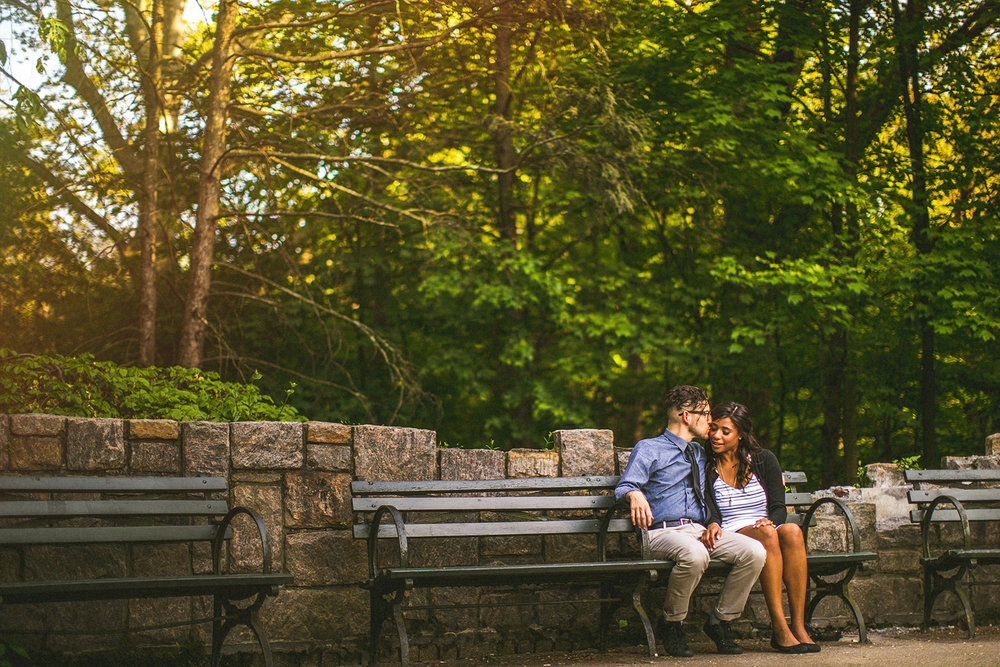 4 Prospect Park Engagement Session bench.JPG
