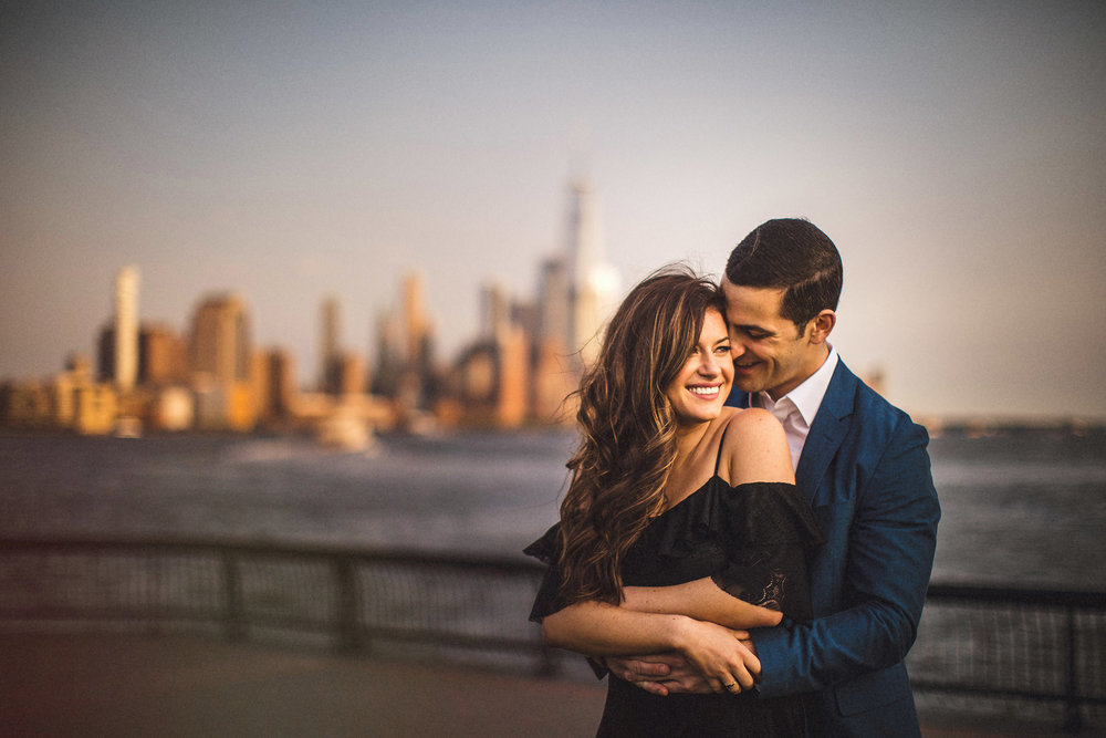 NYC Skyline Engagement Session