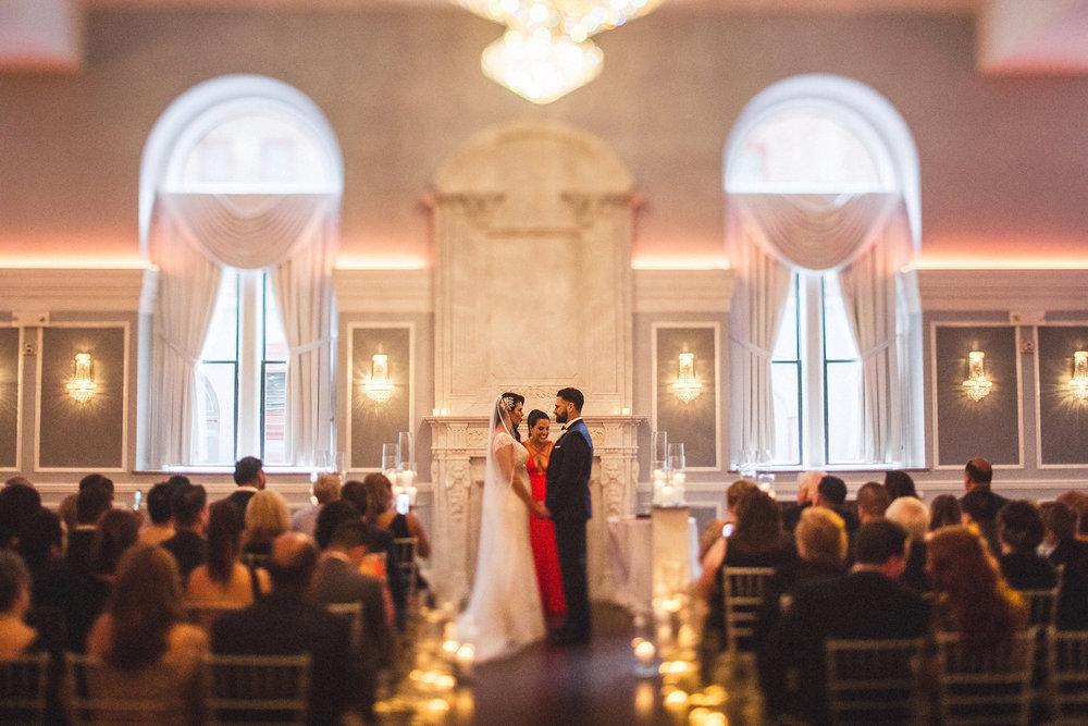 Arts Ballroom Wedding Ceremony