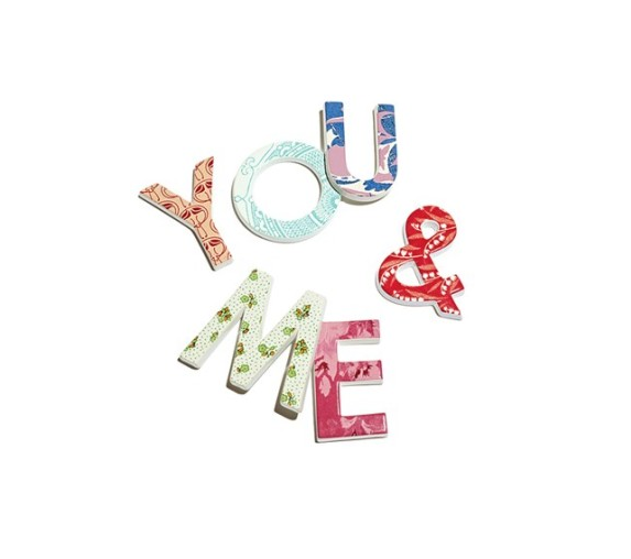 "See the entire Rosanna ""To the Letter"" Collection to find your own lovely letters."