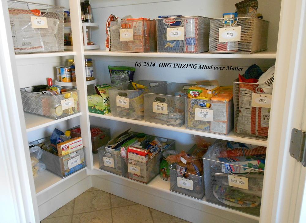 Guest Post Vicki Winterton On An Organized Pantry