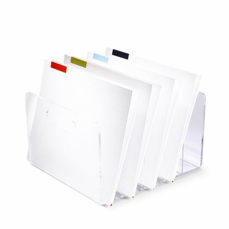 Product Spotlight:  Russell + Hazel Acrylic File Box  $50
