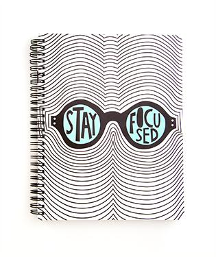 Product Spotlight:  ban.do Rough Draft Mini Notebook – Stay Focused  - $16.99