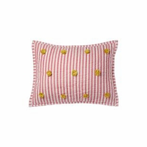 Pehr Designs Pink/Citron Nursery Pillow